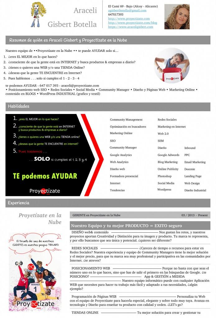Curriculum Vitae de Araceli Gisbert Botella 2 OK