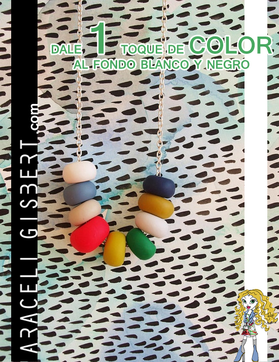Araceli-Gisbert-Moda-Tendencias-Diseño-Alcoy-Alicante-Valencia-Murcia-collar-color-fondo-blanco-y-negro-community-manager-alcoy