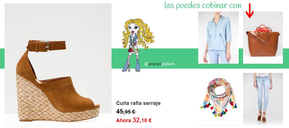 Araceli Gisbert Community Manager Social Media Diseño Web Tendencias Moda Alcoy Ibi Benidorm Ontinyent Alicante Albaida zapatos verano 2013 cuña bailarinas