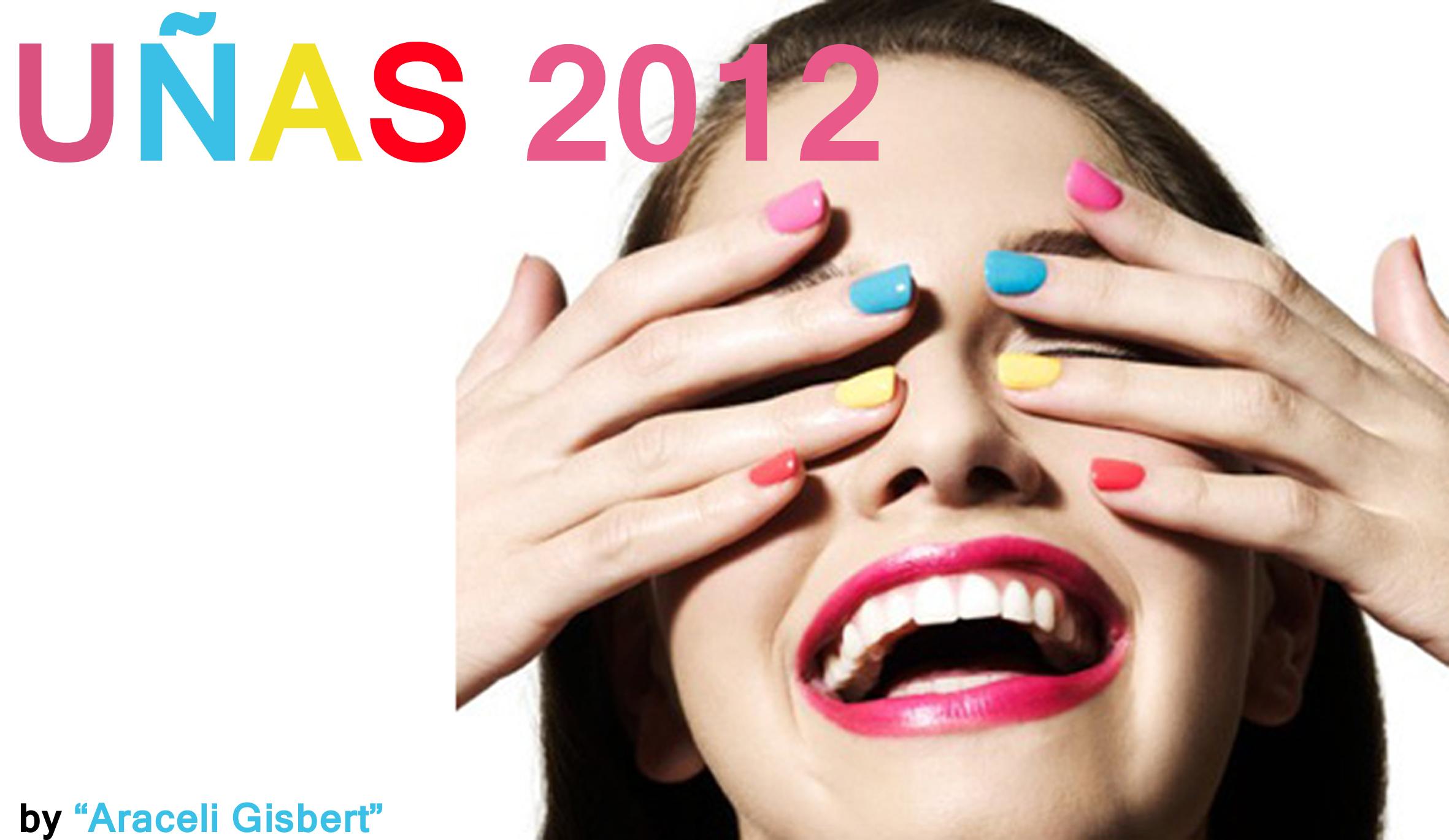 uñas color multicolor araceli gisbert tendencias diseño moda social media posicionamiento web